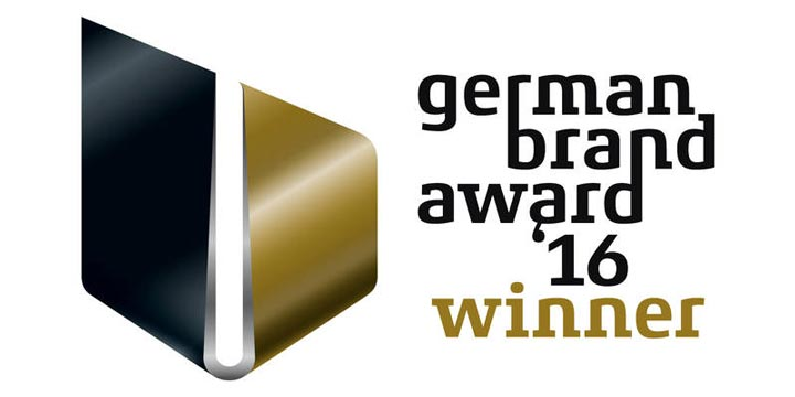 Logo German Brand Award Winner 2016