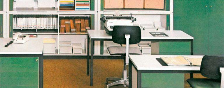 Büromöbel Novaplus von Hund Möbelwerke 1994
