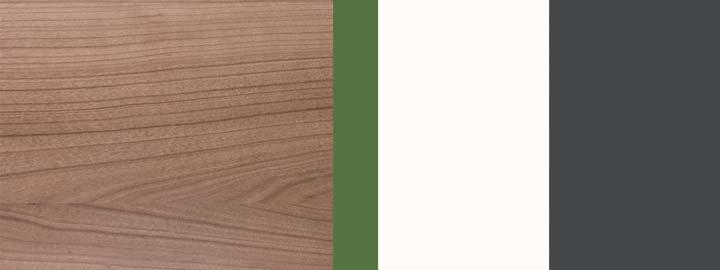Farbklang Decor Havanna, Amazonas-Grün, Weiß, Graphit