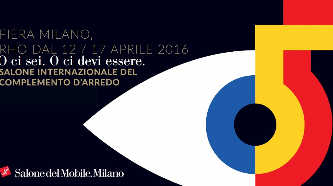 Plakat für Salone internatzionale del complemento d'arredo