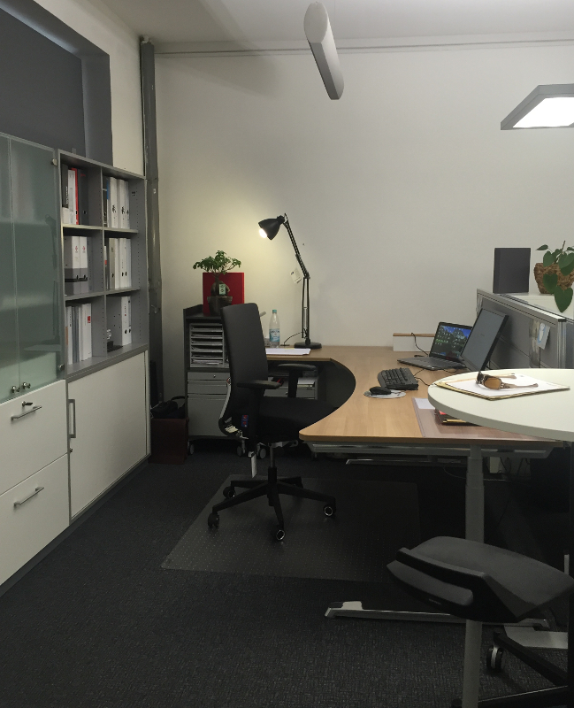Büroräume der Firma Stahl