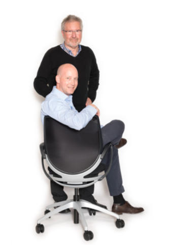 Geschäftsführer: Lothar Stahl und Marc Hess von der Firma Stahl