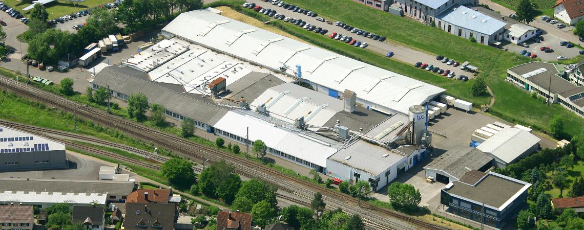 Luftaufnahme von Biberach