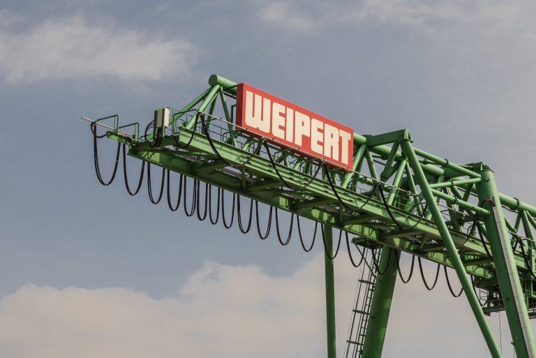Kran der Firma Weipert