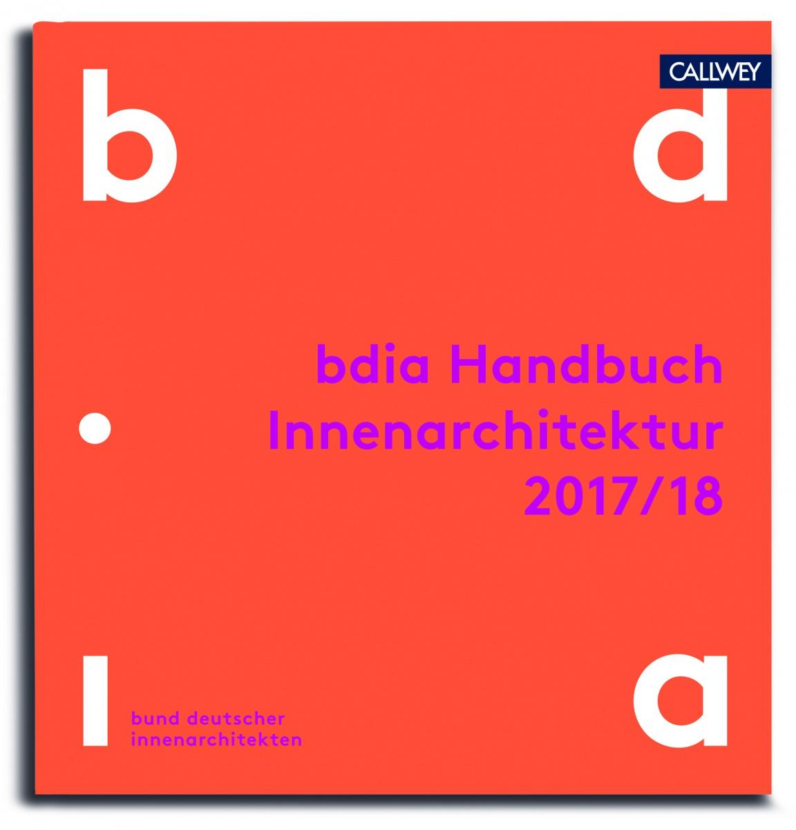 bdia Handbuch der Innenarchitektur 2017/18