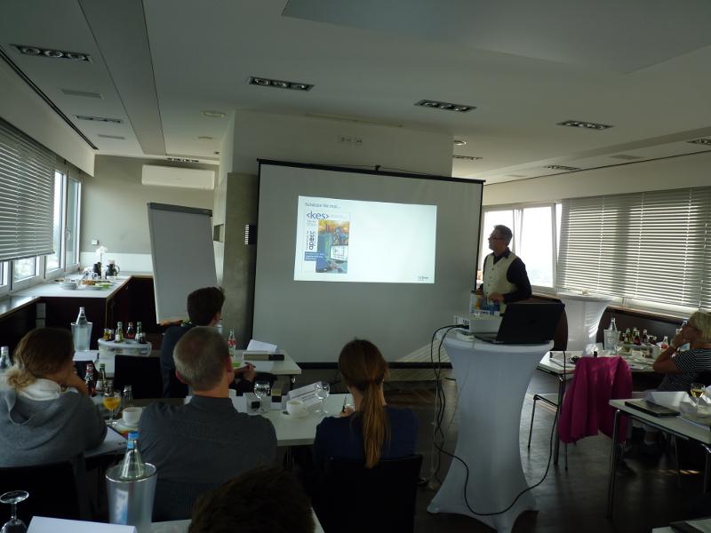 Präsentation auf Bitkom in Köln