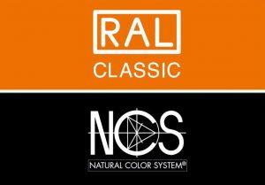 Lackiert nach RAL und NCS