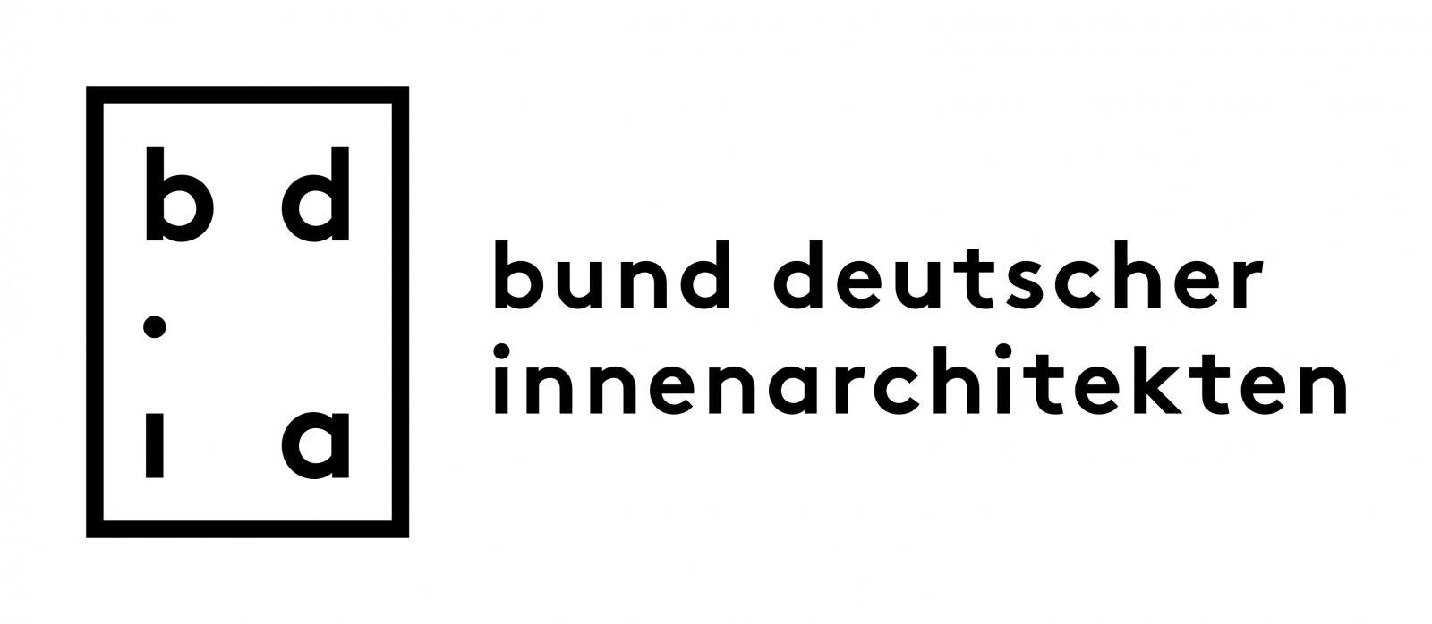 Logo vom Bund deutscher Innenarchitekten