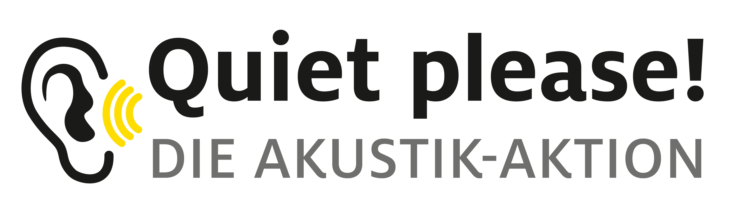 Logo Quiet Please! Die Akustik-Aktion