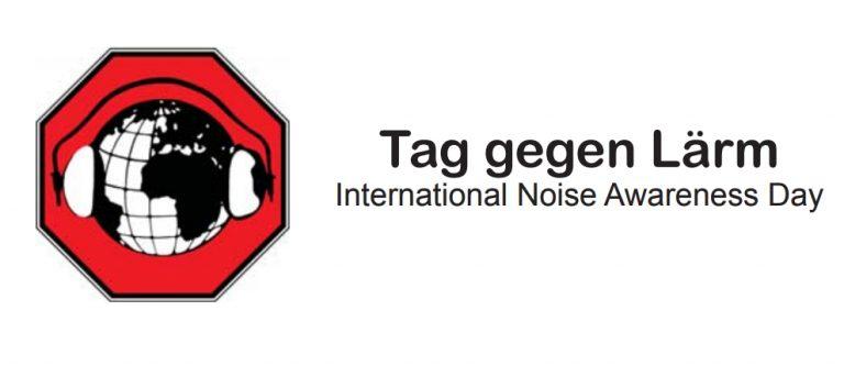 Logo von Tag gegen Lärm