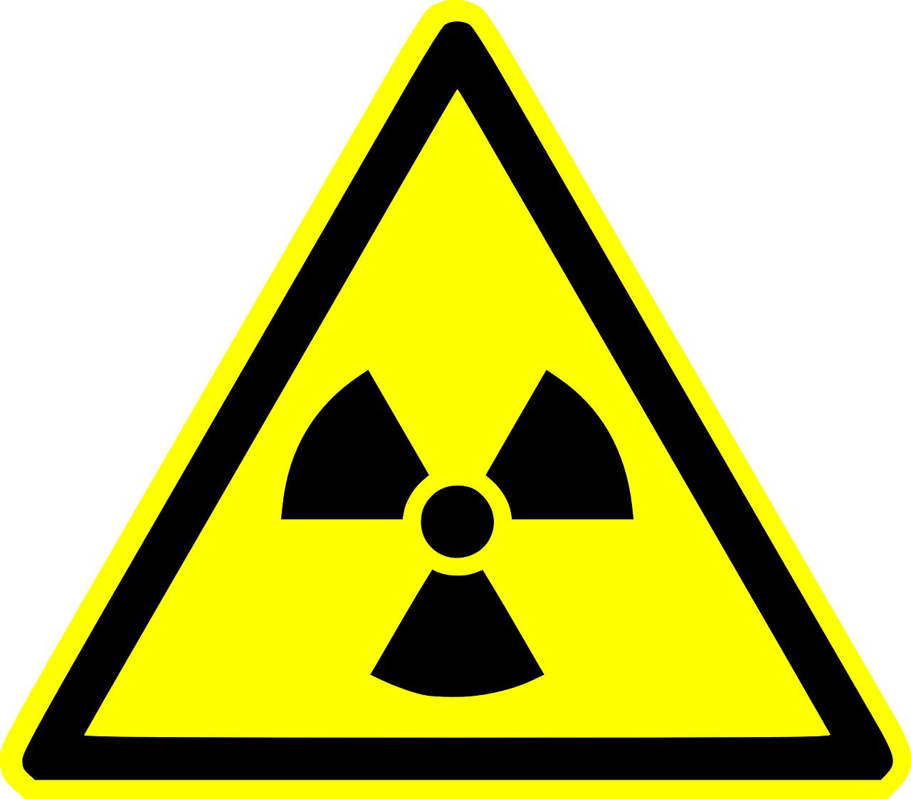 Bild vom Symbol vor Radioaktivität