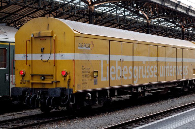 Foto eines Güterwaggons