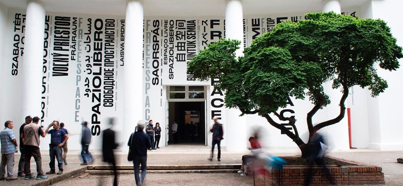 Foto von der Biennale Achitettura 2018
