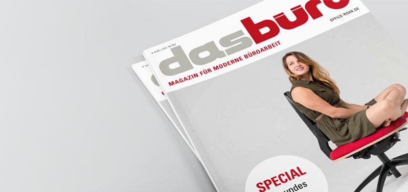 """Interview zum Hund Möbelwerke Jubiläum im Magazin """"Das Büro"""""""