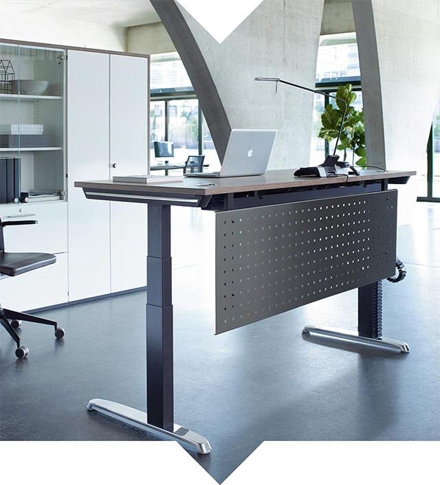 Kernprogramm Tischsystem Thales vonHund Möbelwerke