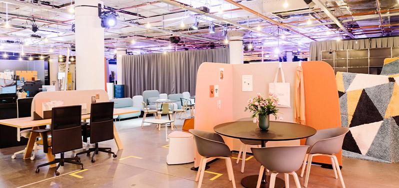 Möbelausstellung FRAME Awards Amsterdam | HUND MÖBELWERKE