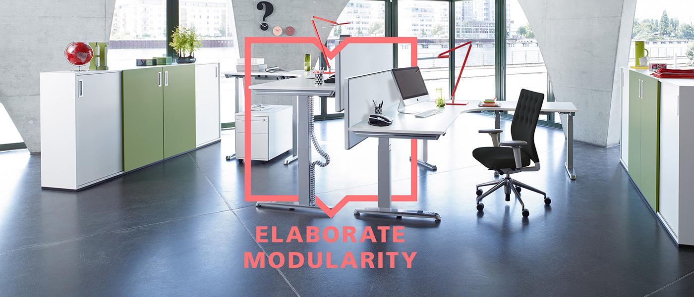 Modularity by Hund Möbelwerke
