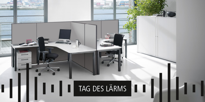 Akustik im Büro – Tag des Lärms |Lösung von Hund Möbelwerke