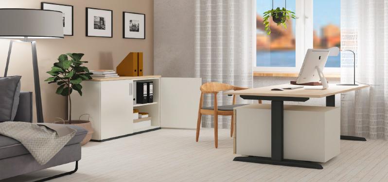 Die passende Büroeinrichtung fürs Home Office von Hund Möbelwerke