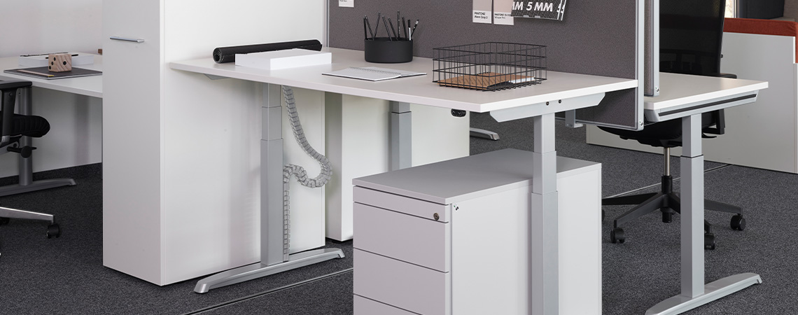 Thales Basic Steh-Sitz-Tisch |Hund Möbelwerke