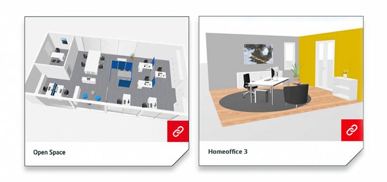 IBA Office Planer Planungsbeispiel | Hund Möbelwerke