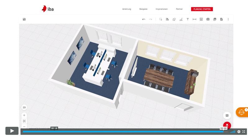 IBA Office Planer Tutorial | Hund Möbelwerke