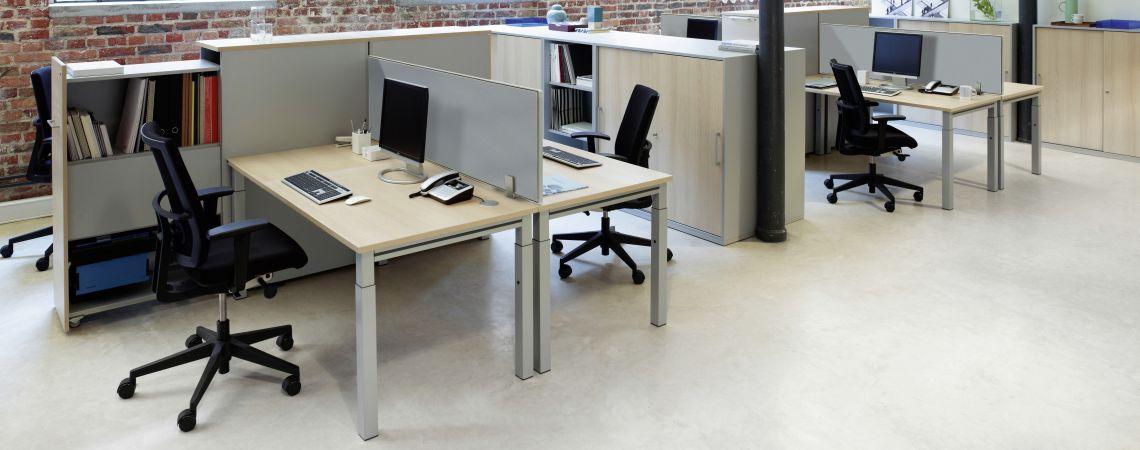 Callisto Tischsystem von Hund Möbelwerke